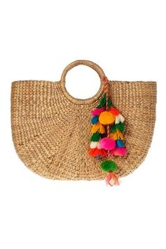 JADEtribe Large Beach Basket Tote | SHOPBOP | Buy me! | Pinterest ...