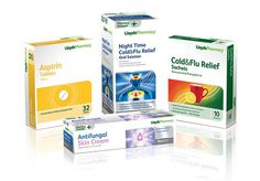 Lloyds Pharmacy over the counter range of medical products.