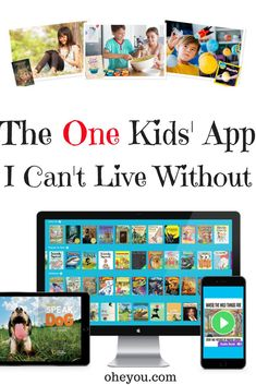 The One Kids App I Can't Live Without - If you have young kids who use an iPad or tablet, you NEED this app! It's been my best purchase to date and my children get so much time out of reading on this app. For kids ages 12 and younger, it's good for preschool, kindergarten, elementary, and even tweens. Reading is so important, and this app makes reading fun! #homeschooling #readingforkids Homeschool Apps, Homeschool Kindergarten, Preschool Activities, Best Educational Apps, Online Music Lessons, Learning Apps, Gifted Kids, New Things To Learn, Teaching Kids