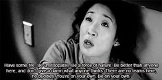 Christina is the realest bitch out there #Greys