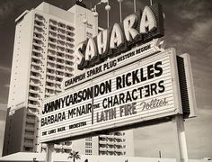 The Sahara old las vegas | Flickr - Photo Sharing!