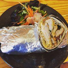 Today\'s special: SPICY CHICKEN BURRITO (with rice beans red salsa crema pico de gallo jack cheese) -$9.50 #chickenburrito #happypresidentsday #denton #dentoning #UNT #TWU #foodporn #chefslife #wedentondoit #dentoneats #dentonproud #boca31 #latinflavors #visitdenton #welovedenton #dentonslacker