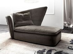 Upholstered Day Bed by Giorgio Soressi soft comfortable daybed