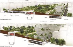 BARICENTRALE: Fuksas wins the masterplan competition for Bari - Really great job!