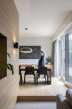 The Reid House involved the renovation of a Lewis Coote original Balwyn design, a dominant 1980's Balwyn vernacular. The brief was to give the house a more
