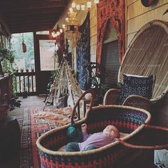 Morning moment ✨ #avapearlmoon #porchvibes