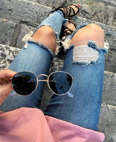 $20.99 Ripped blue jeans. Order »here« !