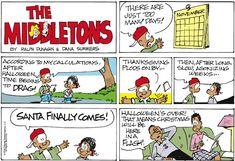 For November 2019 Comic Strips, November, Cartoons, Seasons, Comics, Spring, Fall, Winter, Summer