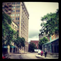 Winnipeg's Exchange District My House, The Neighbourhood, June, Street View, Places, Instagram Posts, Art, Craft Art, Kunst