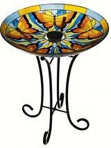 Solar Birdbath Glass /Outdoor stand $91.50