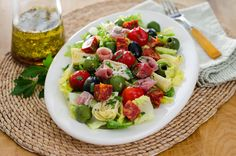Antipasto salad with