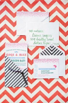 Whimsy Carnival #Wedding BRIDES® #Invitations
