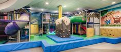 Scrambles Soft Play and Rock Tots playroom at Edinburgh Climbing Arena. Near the airport.