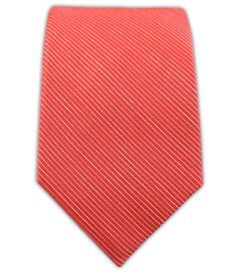 Fountain Solid - Coral (Linen Skinny) | Ties, Bow Ties, and Pocket Squares | The Tie Bar