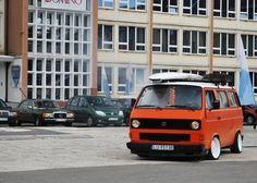 Stanced VW T3 T25