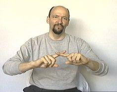 """but"" American Sign Language (ASL)"