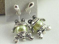 Adorable Frog Earrings