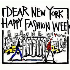 Happy fashion week!