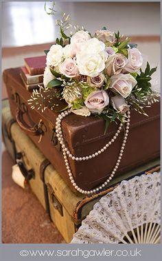 tendance 2015 - mariage rétro - valises