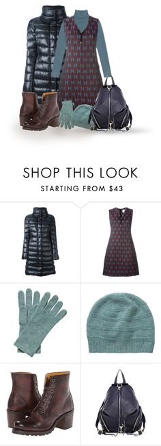 """""""Petrol and bordeaux"""" by lorika-borika on Polyvore featuring мода, Herno, See by Chloé, Mary Katrantzou, Pure Collection, Frye и Rebecca Minkoff"""
