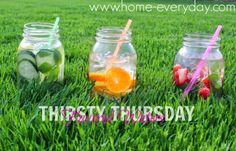 DRINK TO YOUR GOOD HEALTH with INFUSED WATERS!  www.home-everyday.com