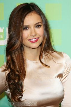 Top Quality Nina Dobrev Hairstyle Clip in Hair 100% Human Hair about 22inches : Tidebuy.com