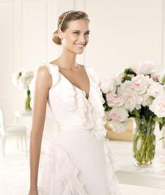 Bridesmaid Dresses, Wedding Dresses, Bridal - Pronovias Manuel Mota 2013 gelinlik modelleri (2)