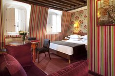 Hôtel Saint-Paul Rive Gauche in Paris, a fabulous traditional-modern hotel right in the centre of #Paris