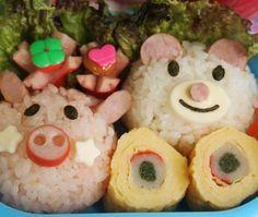 レシピとお料理がひらめくSnapDish - 54件のもぐもぐ - Animal Lunch pack by panda