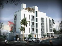 apartment building designs | Apartments, : Small Contemporary Apartment Building Design With ...