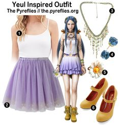 Final Fantasy Fashion - Final Fantasy XIII-2 Yeul Inspired Outfit / Look / Everyday Cosplay