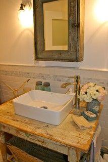 Country Bathroom Design -  - bathroom - santa barbara - by Kelley & Company Home
