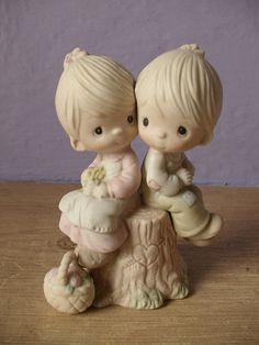 Precious Moments figurine Love One Another by ShoponSherman, $75.00