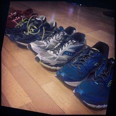 2015 #Runners.  These wheels have gotten me through 3 Marathons. 3 Half Marathons Leg 3 of a 100km Trail run and about 1300kms.  #GORMarathon #GCAM15 #MelbMara15 #RunMelbourne #SurfcoastCentury #running #runfit #letsdoitagain #goodbye2015 #hello2016 #brooks #saucony_au by myitsol http://ift.tt/1N3tJAU