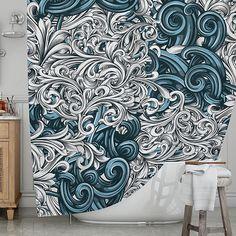 Kess InHouse Infinite Spray Art New Era Blue Teal Fleece Throw Blanket 60 by 50