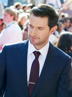 Richard Armitage at The Hobbit World Premiere by Mike Little