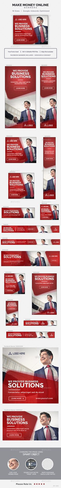 Business Banners Template PSD. Download here: http://graphicriver.net/item/business-banners/16516473?ref=ksioks