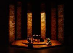 Set design by Dunsi Dai. Stage Lighting Design, Stage Design, Cool Lighting, Set Design Theatre, Prop Design, Arte Do Piano, Desgin, The Glass Menagerie, Stage Set
