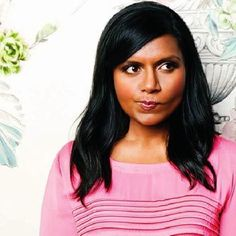 """saying 'girl crush' is redundant and unnecessary. No one is going to think you're a lesbian if you just say 'crush'"" --Mindy Kaling"