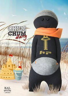 Sock Doll CHUM CHUM -- Harry