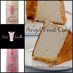 """Angel Food Cake"" 1/2 Amaretto Cream, 1/2 Sweet Pea & Lily www.PinkZebraHome.com/KatieSprinkles #PinkZebra #Sprinkles #Recipes"