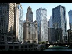 Chicago Architecture Boat Tour : The vibrant city and sprawling metropolitan area of Chicago. Chicago Tours, Chicago City, Chicago Wallpaper, Illinois, Lago Michigan, Costa, Chicago Buildings, Chicago Pictures, 7 Places