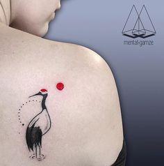 Mentat Gamze crane tattoo