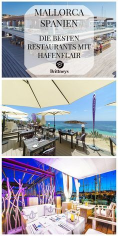 MALLORCA: DIE BESTEN RESTAURANTS MIT HAFENFLAIR #Mallorca #Spanien #Restaurant…