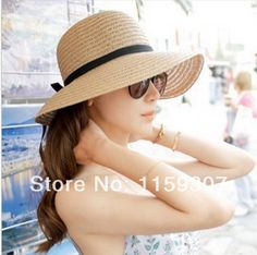 Free Shipping 2014 New Summer Hats for Women Beach Hats Girls Summer Hats Sun Hats -in Sun Hats from Apparel & Accessories on Aliexpress.com | Alibaba Group