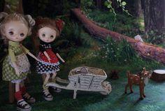 Jerryberry (絵本) - 迷子の森~きのこ谷~