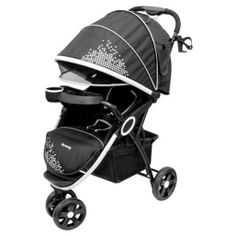 HARMONY URBAN DELUXE CONVENIENCE STROLLER - GALA  The Harmony Urban Delux Conveience Stroller features a  removable tray, locking wheels, front swivel wheels and folds for storage.