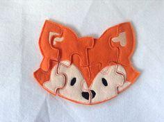 Fox felt puzzle