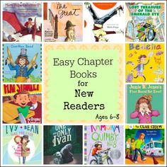 Easy Chapter Books for Emerging Readers (Around Ages 6-8)