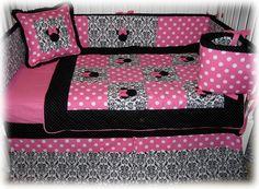 Pin by Natalia Tejada on MICKEY & MINNIE MOUSE | Pinterest : minnie mouse cot quilt - Adamdwight.com